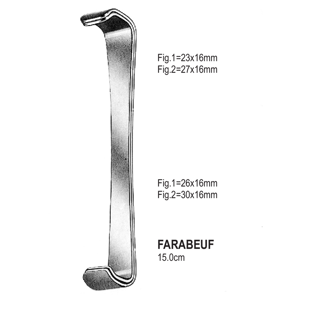 RETRACTORS FARABEUF  15.0cm   (SET)